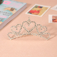 Rhinestone/Crystal affordable hair accessories - Crystal Hair Accessories Bridal Tiaras Comes with Comb New Wedding Bridal Hair Crown Shining Low Price Affordable
