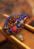 Wholesale High quality original lapis lazuli Bracelet Gold Tanmu Nepal beads beads hand on this animal year tra LJ0071 support mix item