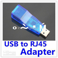 Wholesale Mbps USB RJ45 Ethernet Network LAN Card Adapter