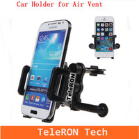 Wholesale http www aliexpress com store product New Arrival Car Holder Air Vent Mount Bracket Support for Mobile Phone Iphone PDA MP4 Player _