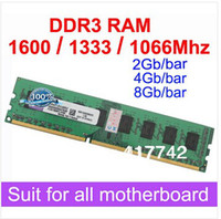 Wholesale Brand New Ram DDR3 GB MHz MHz MHz GB GB GB DDRIII Desktop RAM Memory Compatible With All Motherboard