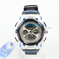 Wholesale Dive Sports Watch waterproof cool digital watches for boys and girls sports analog and digital clock ZB6109