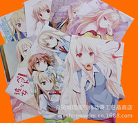 Wholesale Sakura anime village girl poster posters new animation around embossed paper packages