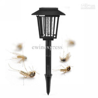Wholesale Outdoor Solar Mosquito Insect Repellent Killer Lamp Light Lantern Pest Controller