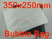 Wholesale New inflatable air bag Transparent Pouches packaging bubble envelope x250mm Bags