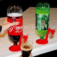 Wine Coolers & Chillers Plastic ECO Friendly Wholesale-Novelty Households Portable Bar Kitchen Drinking Soda Water Coca Coke Fizz Gadget Saver Dispenser