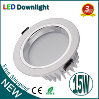 Wholesale 15W Dimmable LED Downlight COB Ceiling Lighting Warranty Years Super Bright LED Down light