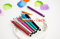 Wholesale dhl Capacitive METAL stylus pen touch for Tablet PC ipad gps e book fast