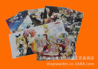 Wholesale Fairy Tail poster embossed poster exhibition poster suite animation around selling