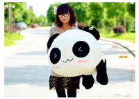 Panda White Plush High quality bolster pillow Plush Toy Stuffed Animal Cute Panda Gift 70cm Gift