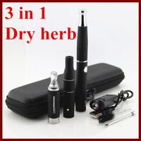 3 in 1 dry herb herbal & Wax vaporizer ego evod electron...