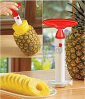 Wholesale Fruit Pineapple Corer Slicer Peeler Cutter Parer Knife Kitchen Tool Random Color