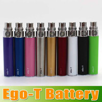 1100mAh ego-t battery - EGO T Battery for Electronic Cigarette Ego T Ego W Ego C Thread CE4 CE5 CE6 ego t battery for e cigarette mah mah mah