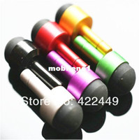 Wholesale New mm Headphone Dust Plug amp Mini Stylus pen Touch screen Pen for Tablet PC MID epad PDA Random colors