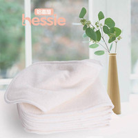 Wholesale Hessie Brand New Baby Products layers Bamboo Fiber Dipar Reusable Baby Nappies Free Size pack