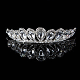 Wholesale 2014 Shining tiaras hair accessories crowns and tiaras Colorful wedding tiaras assorted Bridal crowns and tiaras