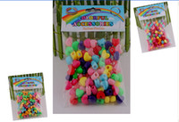 Wholesale Shipping Plastic Woven Bags - 8%off!hot sale!Mixed style!Heart-shaped style!Rainbow loom kits!Rainbow weaving pendant!DIY accessories!100 pcs in each bag!DROP SHIPPING!OM