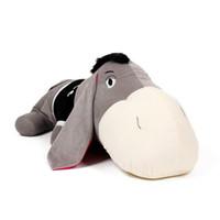 Teddy Bear Gray Plush Free shipping 50cm lovely cartoon lying donkey plush animal doll soft pillow cushion kids birthday gift stuffed toy 1 pc a lot
