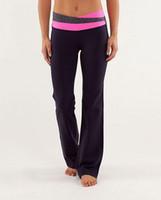 Wholesale New Brand Designer Lululemon Women s Yoga Black Groove Pant Lululemon Groove Pants for