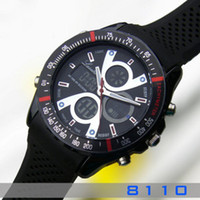 Chronograph china (mainland) pin buckle Fashion ots AUDI sports table male watch multifunctional waterproof student table electronic watch