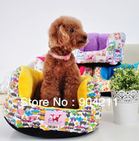 Wholesale 2013 Winter Small Pet Dog cat bed house kennel Canvas bed Poodle Teddy Bichon Frise dog bed colors gifts