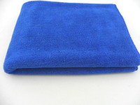 Interstitial thickening thin blue blue b Fiber  free shinppingMultifunctional Cleaning towel 40 * 60 vehicle-specific car wash towel towel towel to wipe the wax wholesale
