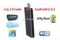 Single Core Not Included 1080P (Full-HD) Wholesale - Mars i2 XBMC V12.2 Frodo RK3188 Quad Core Android Smart TV Stick 4.2.2 Google Smart Mini PC IPTV TV BOX HDMI Dongle 2GB RAM Remo