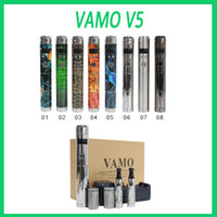 Wholesale New Vamo V5 starter ego kit LCD Display Variable Voltage battery CE4 Atomizer Clearomizer Electronic Cigarettes in Gift box Ecig