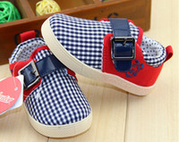 Boy Summer Leather OUTLETS!Children's casual shoes,grid baby shoes,canvas toddler shoes,comfortable wear kids shoes,belt buckle infant shoes.6pairs 12pcs.CH