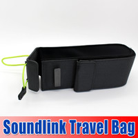 Wholesale 2014 New Arrival Travel case For SoundLink Mini Bluetooth speaker travel bag with retail box Portable Bag Gray Color churchill