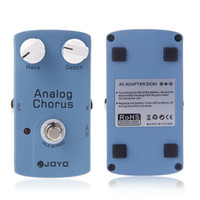 Wholesale Electronic New JOYO JF BBD Chip ANALOG CHORUS Electric Guitar Effect Pedal with True Bypass Musical Instrument Parts I287