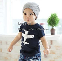 Wholesale Kids Summer Short Sleeve T Shirt Child Clothing Fashion Shirts Boys Casual T Shirt Children T Shirts Boys Clothes Cotton Shirts Tee Shirt