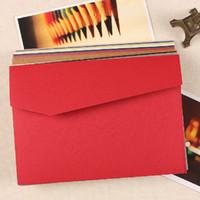 Kraft Paper paper folder - Classic Color Kraft Paper Envelopes MINI Greeting Card Folder Cute Invitation Card Post Card Envelopes Bags SH634
