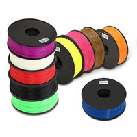 Wholesale Different Color for Plastic mm mm ABS PLA HIPS D Printer Filament welding rods for Makerbot Mendel Prusa Huxley BFB series