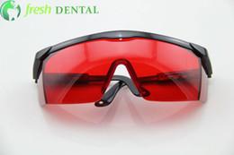 Wholesale 2 Red glasses eyewear protect eye for Dental Curing Light teeth whitening