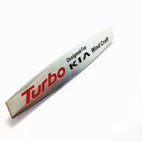 Wholesale Car fender stickers car side badges emblem for Kia Rio cerato sportage soul Forte K2 K3 K5 auto exterior accessories