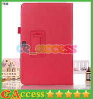 Wholesale Leather Stand Cover Case for Samsung Galaxy Tab4 TAB T530 Covers Cases for Samsung Galaxy Tab T530