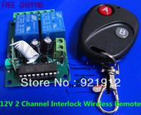 Wholesale V Channel Interlock Wireless Remote Controller Control Switch Board RF MHZ MHZ