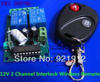 Wholesale set V Channel Interlock Wireless Remote Controller Control Switch Board RF MHZ MHZ
