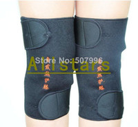 Wholesale Tourmaline self heating knee Magnetic Therapy knee Protection Heating heating Belt knee Massager knee heating belt D