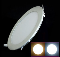 9W No LED 9W 12W 15W 18W Bright CREE LED Recessed Ceiling Panel Down Light Lamp Cold White Warm white AC85-265V Free Shipping
