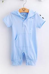Baby Rompers Shortalls Hooded bodysuit Hot Sale Hoodies Toddler jumpsuits