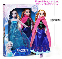 Wholesale 8 off sale Barbie doll frozen Elsa Anna Big adventure of ice and snow and sisters for a doll CM DROP SHIPPING high quality set ZF