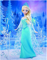 5-7 Years barbie dolls - 8 off sale Barbie doll Elsa Anna Big adventure of ice and snow and sisters for a doll CM DROP SHIPPING high quality set ZF