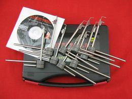 9pcs 5 generation locksmith for Flagpole lock LOCKSMITH TOOL door opener cross pick tublar pick