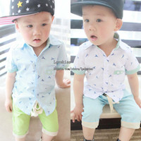 Boy Summer Standard Infant Clothes Short Sleeve T Shirts Kids Clothing Toddler Shirt Children Shirts Kids Tshirt Boys Shirts Child Shirt Baby Shirts Tee Shirts