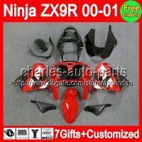 7gifts+ Fairings For KAWASAKI NINJA ZX9R ZX 9R 00- 01 Stock re...
