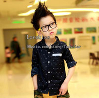 Wholesale Kids Clothes Child Long Sleeve T Shirts Best Shirts Boy T shirt With Collar Children Clothing Kids Shirt Fashion Casual Shirts Boys Shirts