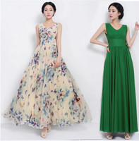 Wholesale L003 new women summer casual lace dress Butterfly ladies V neck bohemian long dresses for party and evening