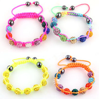 Wholesale Professional high end European and American foreign trade of high end fine jewelry shiny Shamballa bracelet new special hot